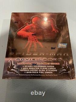 Spider-man Movie Trading Card Scelled Box Collection Topps De Pont Supérieur