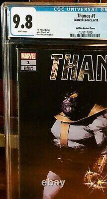 Thanos 1 125 Gerardo Zaffino Variante Cgc 9.8 Infinity War Endgame Film Nm