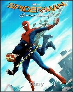 Tom Holland Spiderman Avengers Infinity War Endgame B Signé Autographe Uacc Rd96