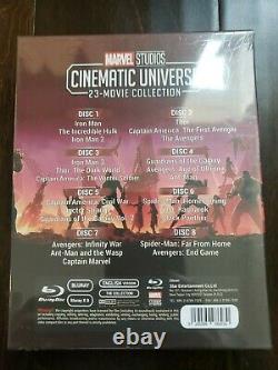 Univers Cinématographique Marvel, 23 Collection De Films Blu-ray, 8 Disques Avengers Endgame