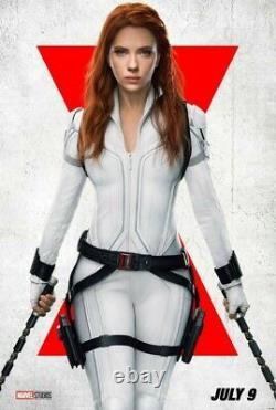 Veste Promo Gratuit Avengers Endgame + Marvel Black Widow New L-xl Film Crew Hat