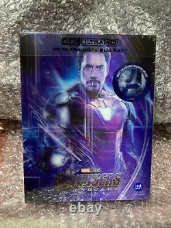 Weet Avengers Endgame Lenticulaire Fullslip Steelbook (4k Uhd+2d+bonus Disc)