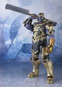 (nouveau) S. H. Figuarts Avengers Endgame Thanos Action Figure Bandai Du Japon
